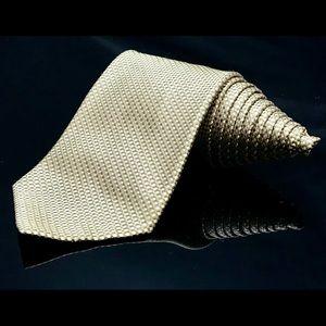 BANANA REPUBLIC Silk Cross Over Luxury Tie